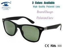 New retro gafas de sol polarizadas hombres gafas gafas verde marrón azul lente de vidrio de sol de los hombres gafas de sol hombre