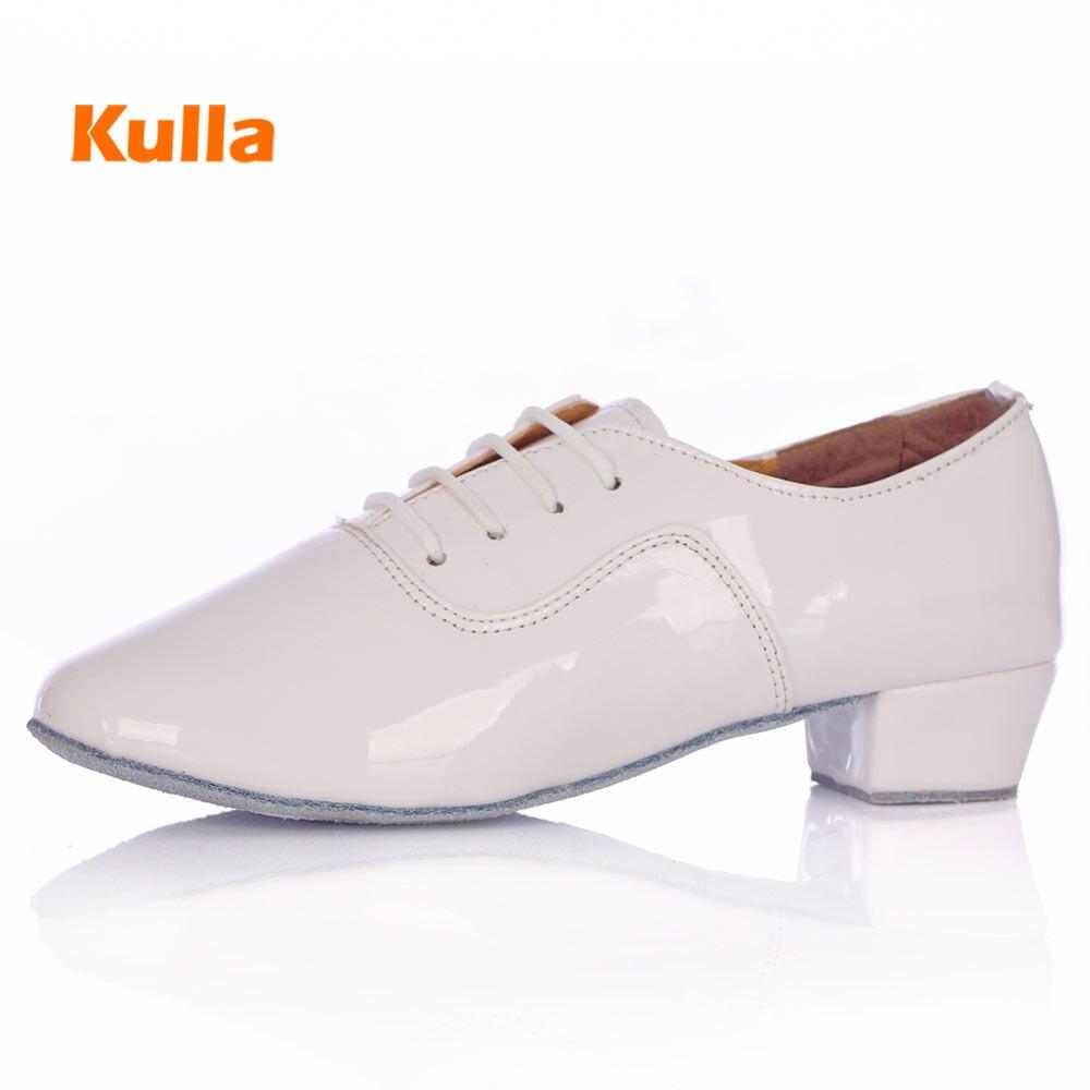 Men Children Latin Dance Shoes Boys Standard Modern Dance Shoes For Ballroom Tango/Salsa Dancing Zapato Baile Latino Soft Bottom