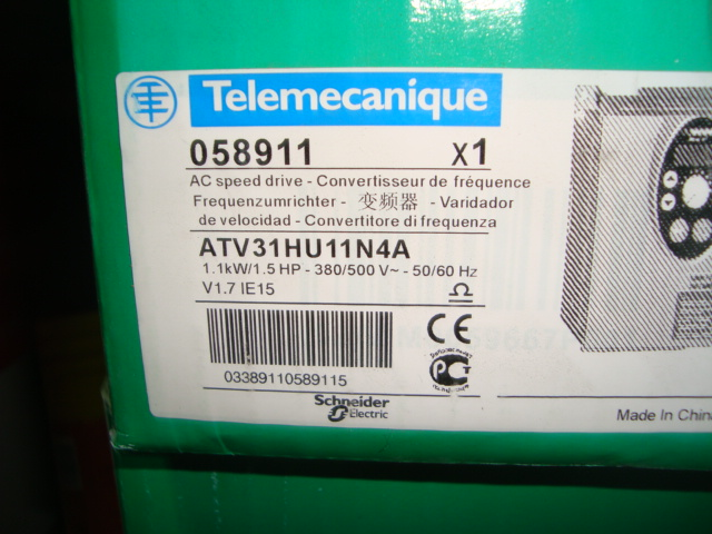 New Schneider Inverter ATV31HU11N4ANew Schneider Inverter ATV31HU11N4A