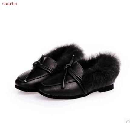 95e0d9c07 Invierno niños botas de nieve de felpa niños niñas botas de moda  antideslizante grueso impermeable Zapatos