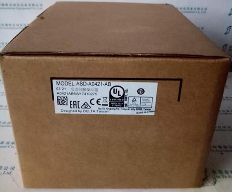 все цены на New Original ASD-A0421-AB 1ph 220V 400W 2.6A Encoder Resolution 2500ppr AC Sevor Drive онлайн