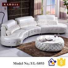 S893 coffee tables match white diamond leather couch sofa set, living room furniture(China)