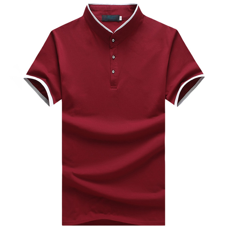 2018 Hot Sale Business   Polo   Shirt Plus 5 Colors Slim Short-sleeve   Polo   Good Quality   Polo   Shirt Men Size 5XL MTP465