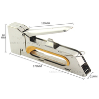 Free Shipping Stretch Tool Staple Gun For Stretched Canvas Painting Stainless Steel Manual Nail Gun For