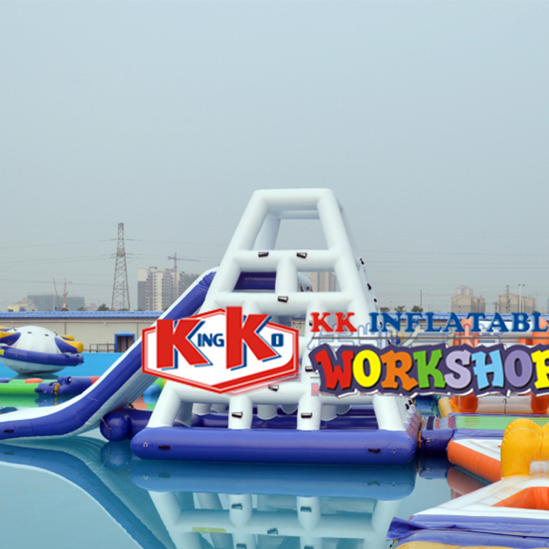 Summer Hot Sale Floating Water Slide PVC Inflatable Water Tower, Floating Inflatable Water Game For Water Park