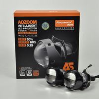 2019 Aozoom New Arrival High Quality 2 Pcs 2.5 Inch LED Lossless Bi Projector Lens
