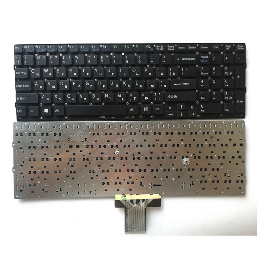 Russia FOR SONY VPC-EB VPCEB VPC EB pcg-71211v RU laptop keyboard without Frame laptop keyboard for sony svs13a2c5e svs13a2v9r svs13a2w9e svs13a2x9e svs13a2x9r black without frame brazil br