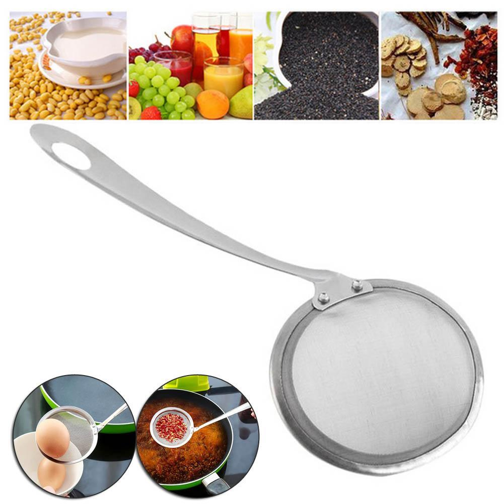 Practice Mesh Filters Skimmer Soup Spoon Strainer Strainer Stainless ...