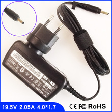 19,5 V 2.05A Портативный Нетбуки адаптер переменного тока Зарядное устройство для hp/Compaq Mini 100 110c 310 700 730 1000 1100 2102 CQ10 110-3018CL