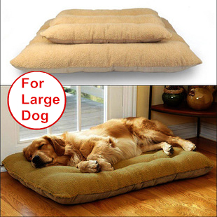 Within 65KG Big extra large dog mat pet bed House sofa Kennel washable Soft Fleece Golden Retriever Dog Warm cushion bed nest