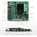 D2550 placa base de servidor con 4 puertos LAN, USB, VGA, para el router, mini PC