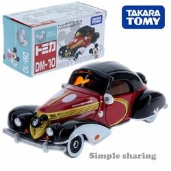 Takara Tomy Tomica Disney Motors DM 10 sen gwiazdy 3 Mickey Diecast miniaturowe zabawki samochodowe hot pop zabawki dla dzieci dla dzieci śmieszne lalki