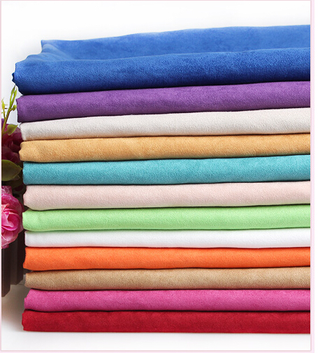 43763 50*145CM suede fabric for Tissue Kids Bedding textile for Sewing Doll, DIY handmade materials