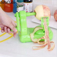 Multifunctional manual fruit peeler plastic stainless steel apple peeling machine kitchen tool