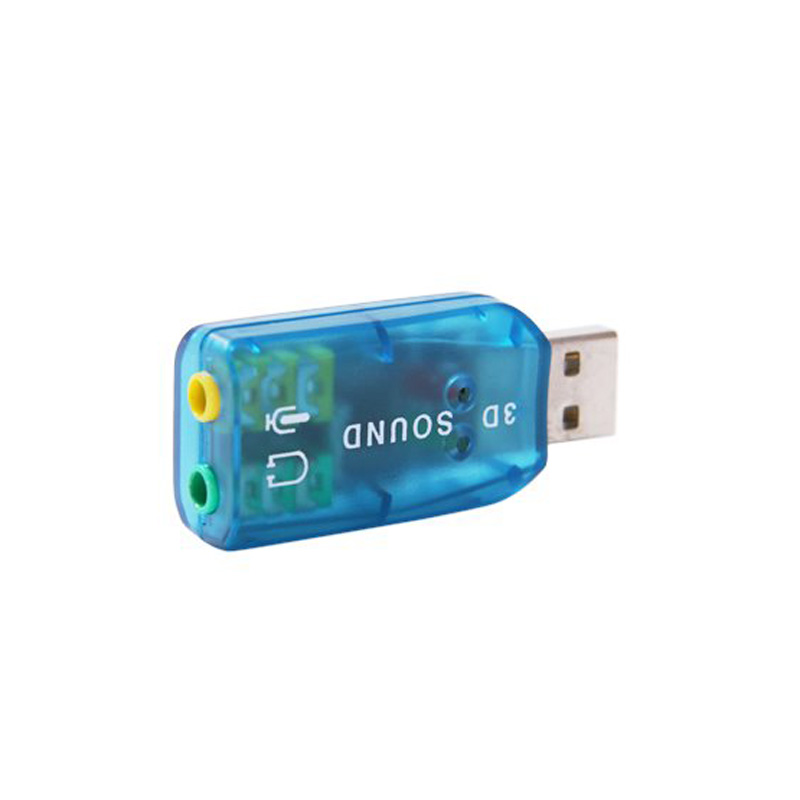 все цены на New 5.1 External USB Audio Sound Card Adapter For PC Notebook Laptop QJY99 онлайн