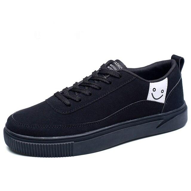 00913d410 Homens baixo-top sapatos de lona Respirável Homem Original Tênis Ao Ar  Livre Sapatos de