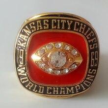 Envío gratis! Replica 1969 Kansas City Chiefs campeonato anillo para hombre como regalo