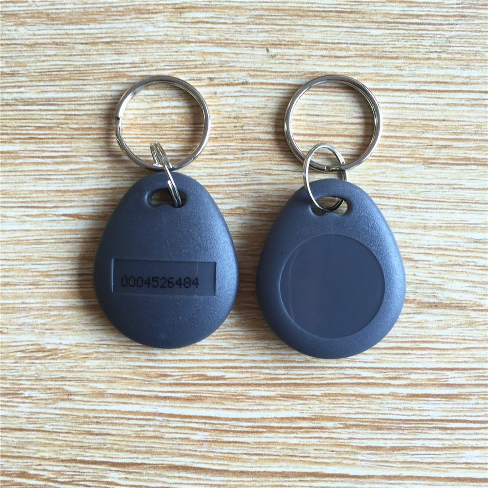 купить RFID ID card keytag 125Khz Key Tag Keyfob Proximity Token key fobs Chain по цене 2402.48 рублей