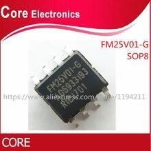 100pcs/lot FM25V01 GTR FM25V01 G FM25V01 SOP8