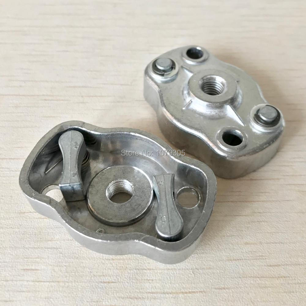 2pcs Grass Trimmer 1E34F 260 Easy Starter Aluminum Pulley Pawl Plate