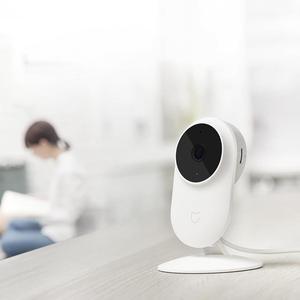 Image 4 - كاميرا آي بي ذكية أصلية من شاومي Mijia 1080P 2.4G & 5.0G لاسلكية تعمل بالواي فاي بزاوية واسعة 130 متر رؤية ليلية كشف هرمي 10 متر