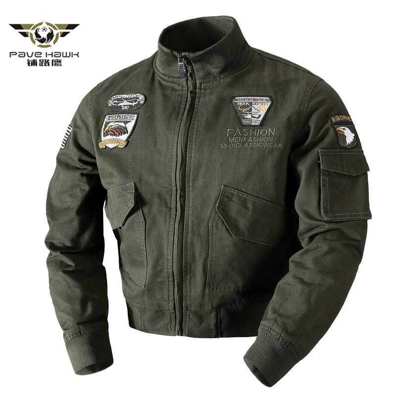 Air Force Military Jacket Men Spring Autumn Cotton Pilot Jacket Coat Army Men's Bomber Jackets Cargo Flight Jacket Male M 4XL