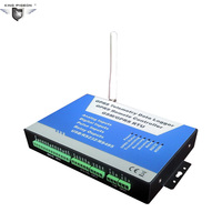Remote Alarm S240 GSM Wireless M2M Date Logger GPRS Controller RS485 Temperature Monitoring Digital Relay System