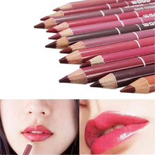 New Fashion 1 Pc 28Colors Cosmetic Professional Lipliner Waterproof Lip Liner Soft Pencil Makeup Natural Tools