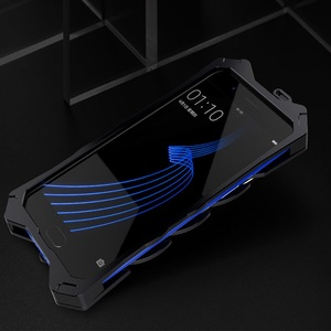 Image 5 - Мощный чехол для huawei P20 Lite сверхмощный винтовой металлический корпус для huawei P20 P20 Pro Zimon чехол для huawei P30 P30 Pro сверхмощный