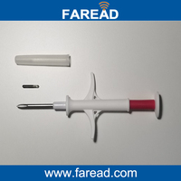 X2pc Glass Syringe 2 12x12mm 13 56MHz With Chip NFC Ntag216 ISO14443A Standard