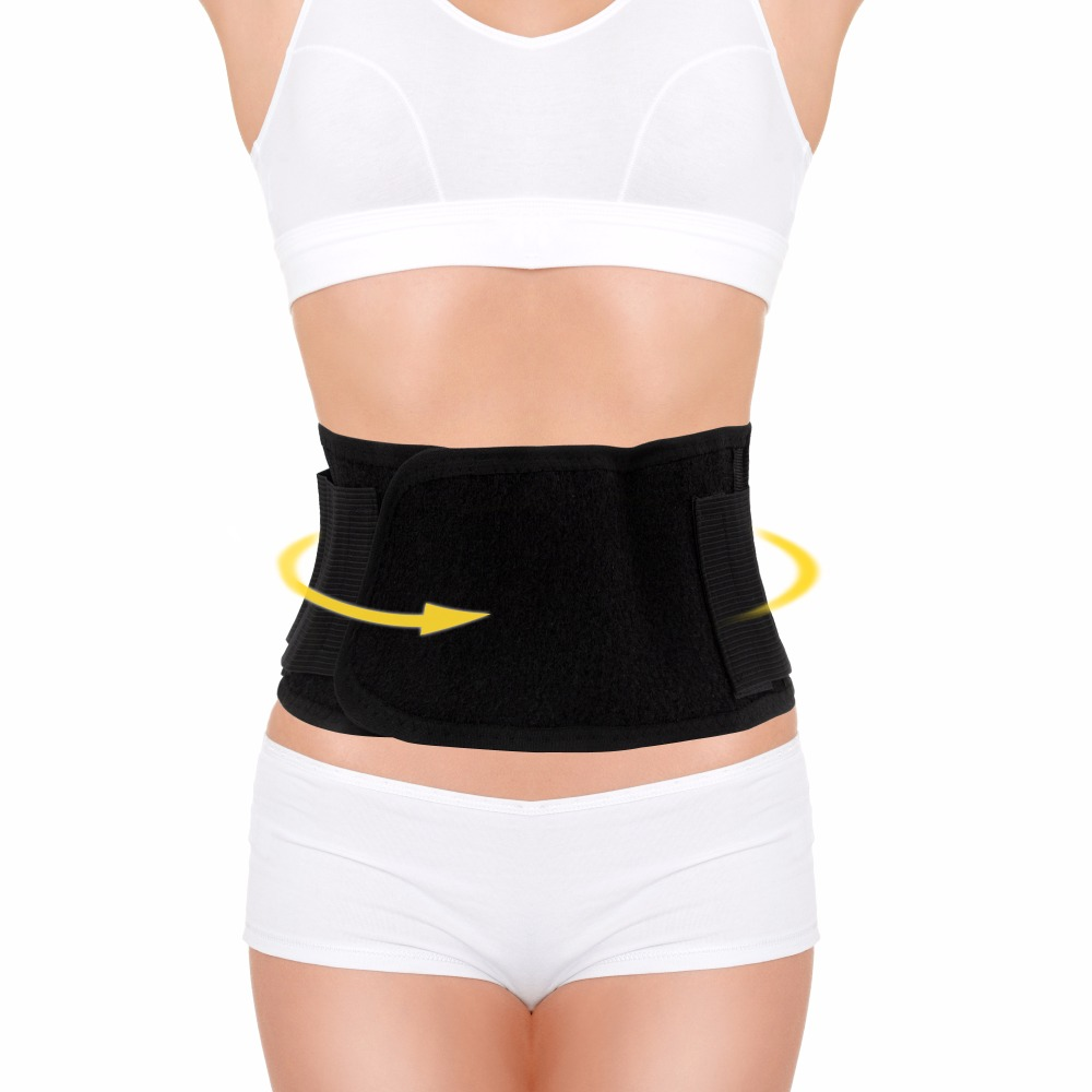 Health Care!Tourmaline Waist Belt Self-heating Belt Back pain relief messager Magnetic Therapy Waist Brace Support tcare adjustable tourmaline self heating magnetic therapy waist support belt lumbar back waist brace double band health care