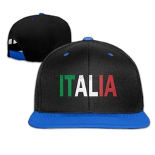 Mens and Womens Italia Baseball Hat Classic Cotton Strapback Cap(China) f55d6a844