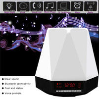 SVPRO Jewelry Style Surround Sound Stereo Speaker Audio Speakers With Battery Audio Clock Bluetooth Seven Color