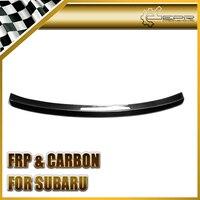 Car Accessories For 2009 Legacy BP5 D~F Carbon Fiber Rear Trunk Lip Spoiler Glossy Fibre Racing Auto Boot Wing Body Kit Trim