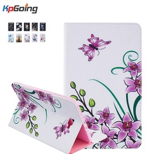 Fashion Stand Tablet Leather Case for IPAD Air 2 Colorful Flip Stand Cover Brand Cases for IPAD 6 Fashion Slim Fundas
