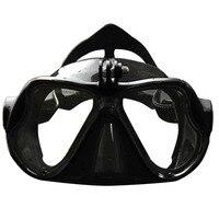 Профессиональный Подводный Камера Дайвинг маска подводное плавание Плавание очки для GoPro Xiaomi SJCAM спортивные Камера уплотнения безопасно по...