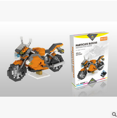 7474PET NoHot sale Decool YZ Technic Motorbike ABS Toy Set Boy Game Gift 8051 racing locomotive Exploiture gift