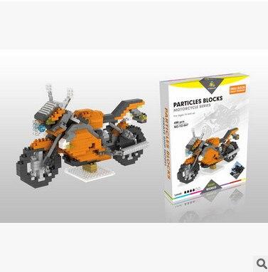 7474PET NoHot sale Decool YZ Technic Motorbike ABS Toy Set Boy Game Gift 8051 racing locomotive Exploiture gift