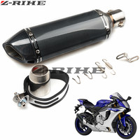 Modified Motorcycle RACING Exhaust Pipe Moto escape Muffler for Triumph SPEED TRIPLE TIGER 1050/Sport 800 XC/XCX/XR/XRX