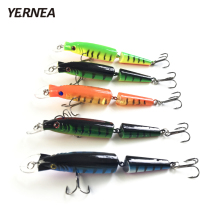 Yernea 5pcs/Lot Swimbait  Fishing Lures Crankbait Hard Bait Slow 5Colors Fishing Wobbler Fishing Tackle Isca Artificial Lures