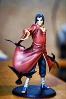 Hot-selling 1pcs 17CM pvc Japanese anime figure Naruto Uchiha Itachi action figure collectible model toys brinquedos