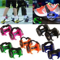 Роликовых детская обувь ролик роликовые коньки Для мужчин и Для женщин одно колесо детская обувь Heelys колеса детская обувь