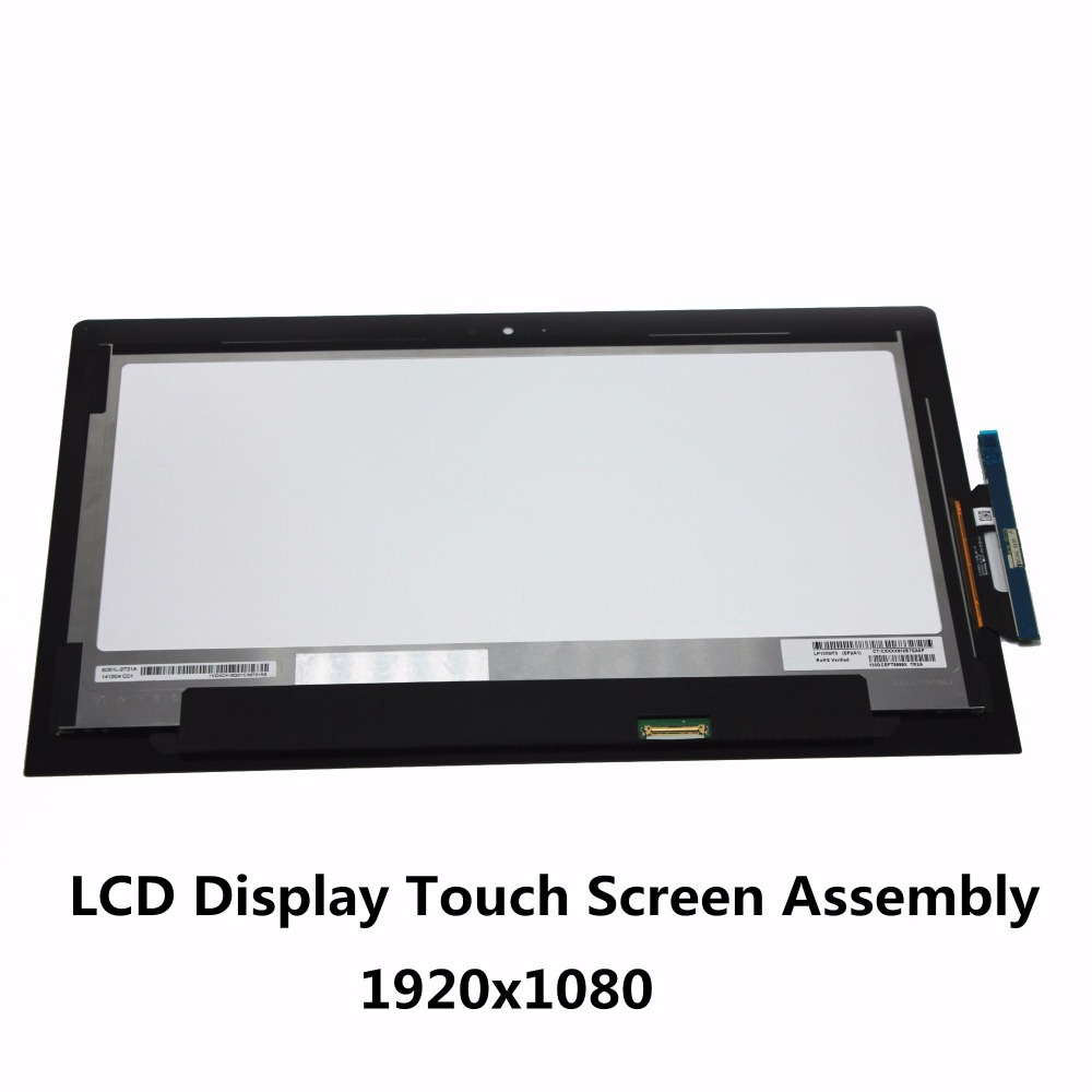 15.6/'/' LCD Touch Screen Digitizer+Bezel For Toshiba Satellite Radius P55W-B5318