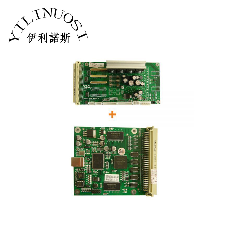 Xenons X2A-6407ASE Eco-solvent Printer MainBoard A+B