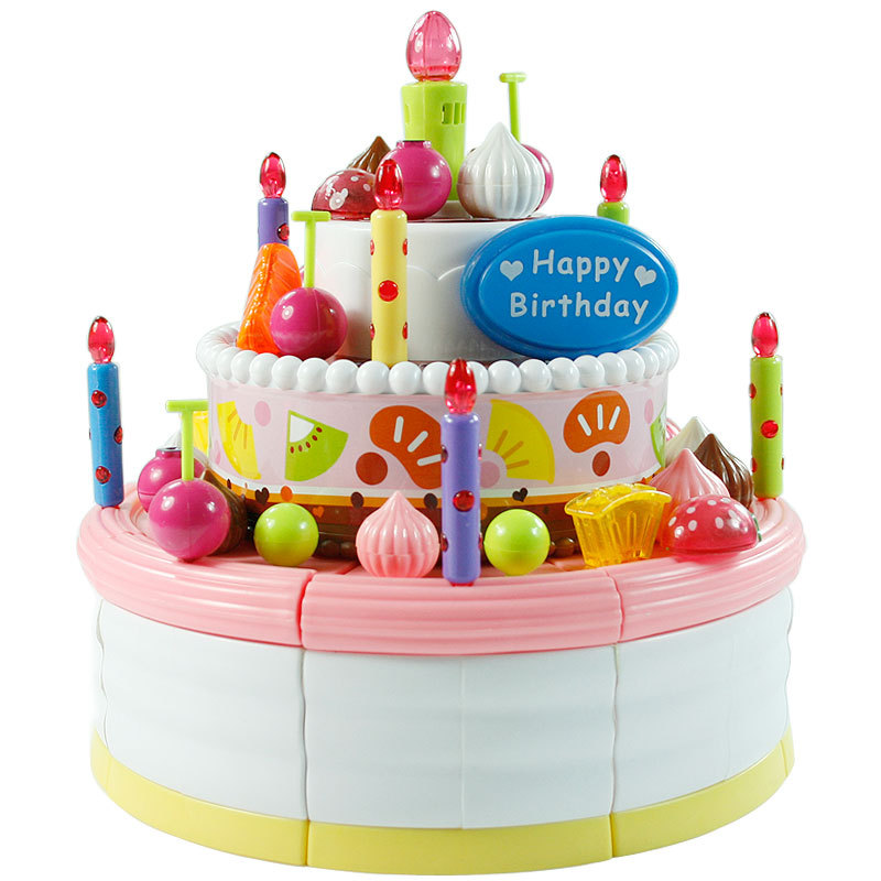 Birthday Cake Toy : Music birthday cake toys discount girls child pretend