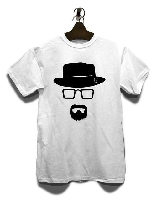 Heisenberg Schablone T Shirt Breaking Walther Bad White Pinkman ...