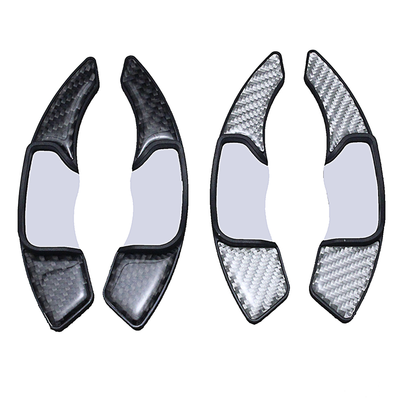 lsrtw2017 carbon fiber car steering wheel shift paddle trims for lincoln mkz mkc mkx in Interior Mouldings from Automobiles Motorcycles