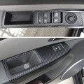 4 Puertas De Fibra De Carbono Etiqueta Engomada Del Coche de Control de Ascensores Apoyabrazos Estilo Del Coche Para Chevrolet Cruze