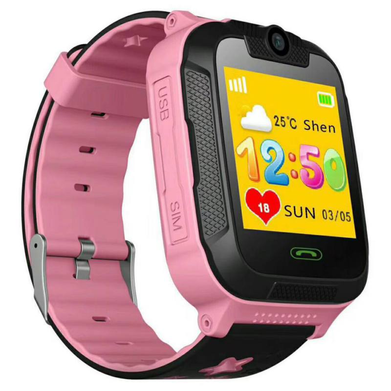 G76 3G Kid Smart Watch GPS SOS Kids SmartWatches Touch Screen With Camera Voice Chat For Android And IOS Sd