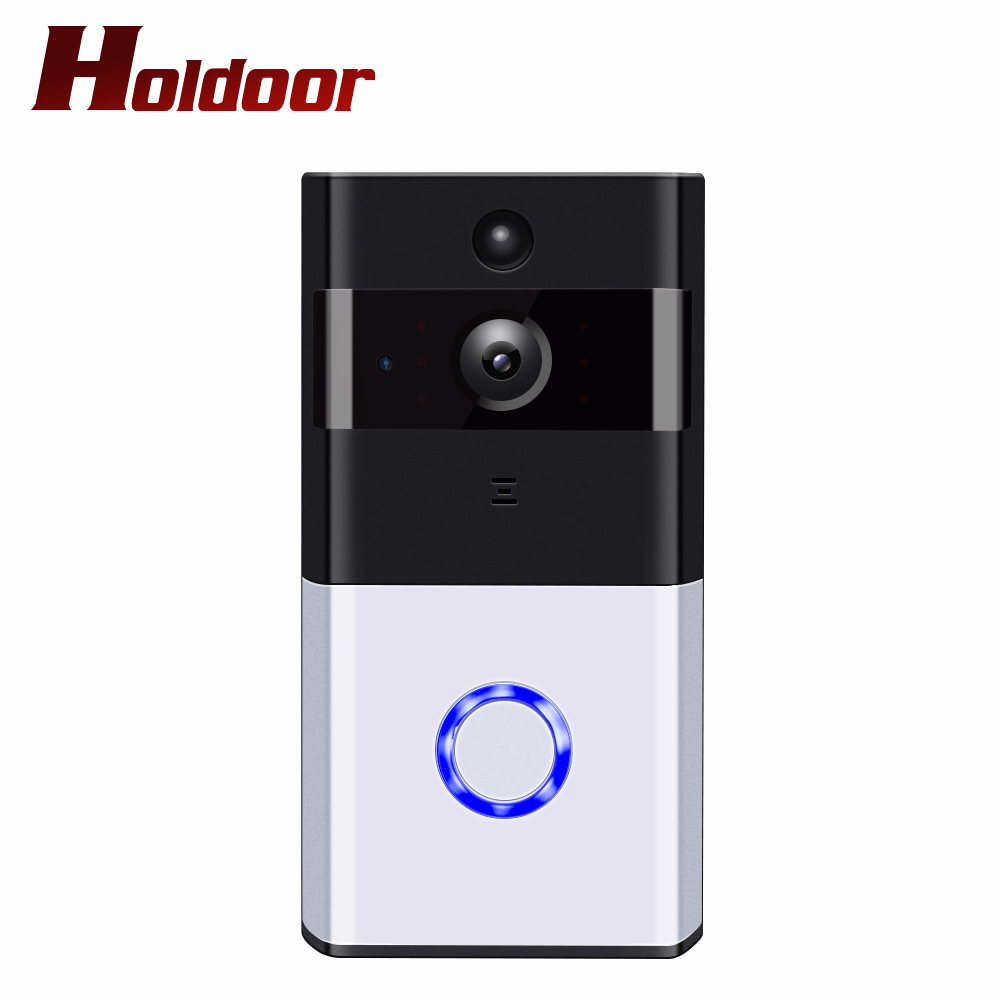 Holdoor Video Doorbell Smart bell 720P HD Wifi Security Camera Real-Time Two-Way Talk Night Vision PIR Motion Detection Wireless real time driver s fatigue detection